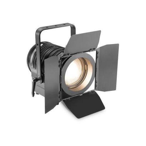 ts 200 ww-spotlight 180w ciepła biała dioda led, reflektor teatralny, czarna obudowa marki Cameo
