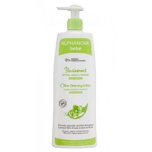 Organiczna oliwka z wodą wapienną do mycia i kąpieli bio 500 ml alp05222 marki Alphanova bebe