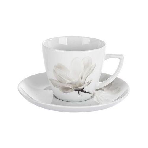 Lubiana / alice Lubiana magnolia beata dorota 6474 filiżanka ze spodkiem 350 ml