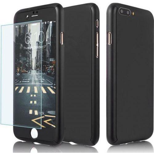 Memory king Ekskluzywne czarne etui 360 do iphone 7
