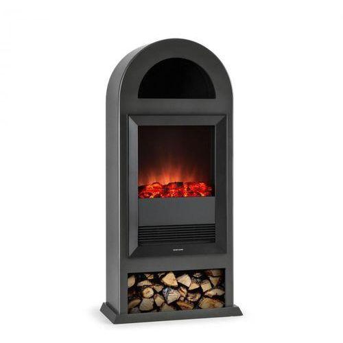 Blockhouse kominek elektryczny wolnostojący 2000w czarny marki Klarstein
