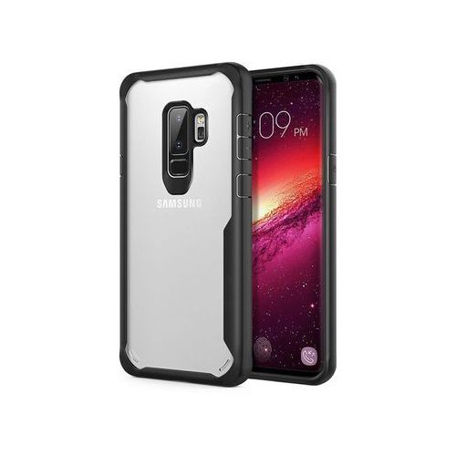Etui Alogy slim armor Samsung Galaxy S9+ Plus + Szkło, kolor czarny