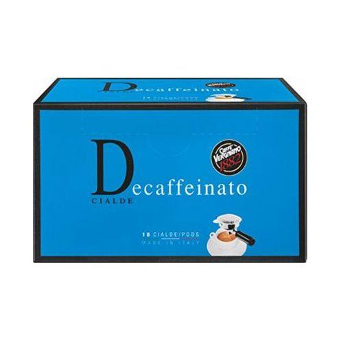 CAFFE VERGNANO 18szt Decaffeinato Włoska kawa bezkofeinowa w saszetkach import