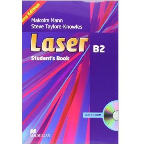 Laser B2, Third Edition, Student's Book (podręcznik) with CD-ROM (213 str.)