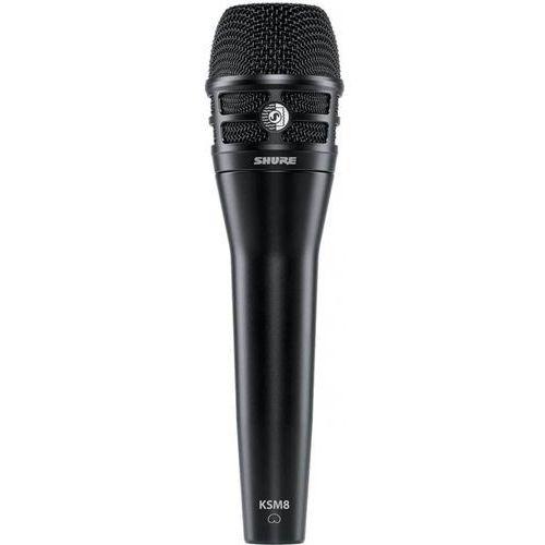 Shure KSM8/B Dualdyne mikrofon dynamiczny 2-membranowy, kolor czarny