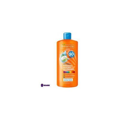 bikini dry touch spf50 (w) mleczko kokosowe do opalania 200ml marki Bielenda