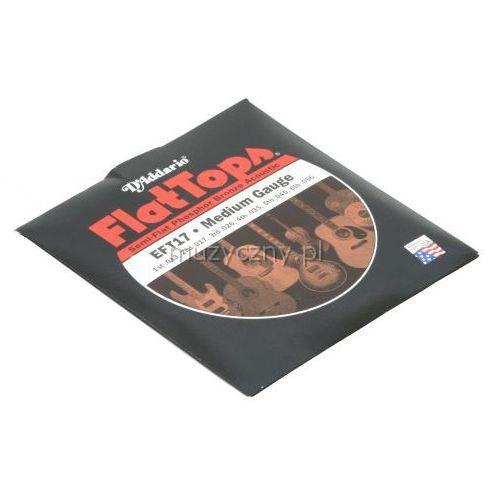 D′addario eft-17 flat top struny do gitary akustycznej 13-56