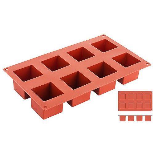 Forma silikonowa do pieczenia, kostki o wymiarach 50x50 mm   CONTACTO, 6644/050