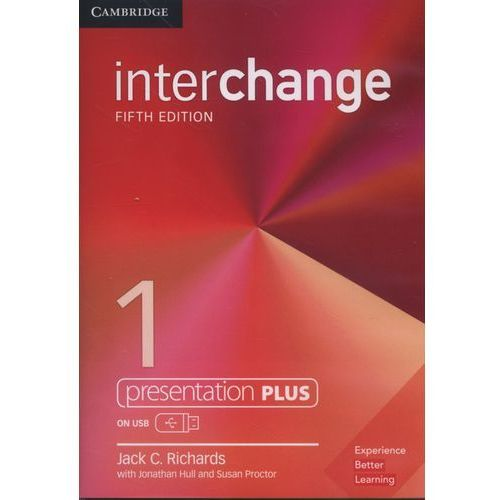 Interchange 1 Presentation Plus USB - Richards Jack C. DARMOWA DOSTAWA KIOSK RUCHU, Jack C. Richards