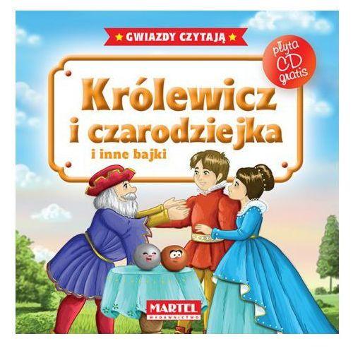 KRÓLEWICZ I CZARODZIEJKA I INNE BAJKI + CD TW (48 str.)