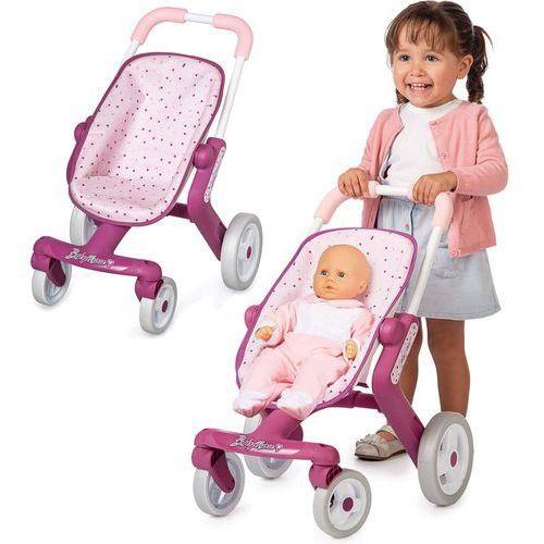 sportowy wózek dla lalek bn marki Smoby