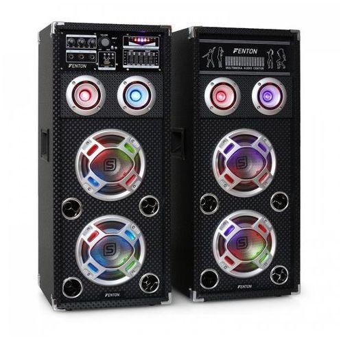 KA-26 zestaw aktywnych głośników PA karaoke,USB,SD,