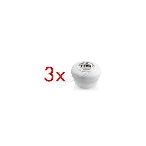Proraso skóra wrażliwa - łagodne mydełko do golenia (3 x 150 gr)