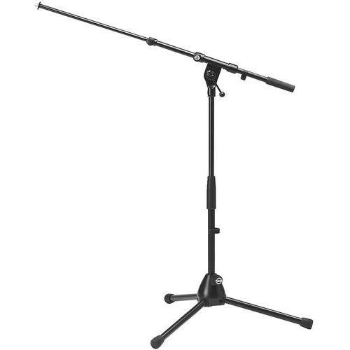 MONACOR KM-259 - Podłogowy statyw mikrofonowy, niski, ruchome,