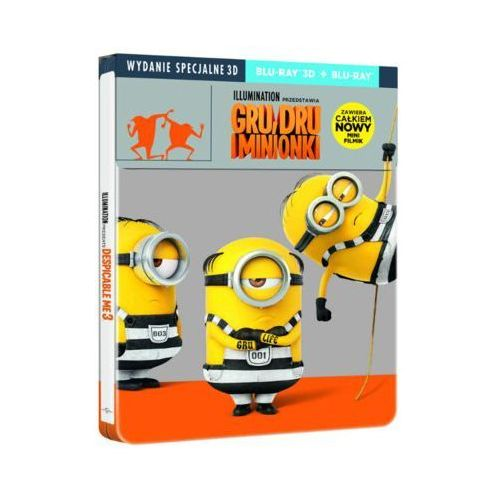 Gru, Dru i Minionki 3D. Steelbook (2BD) (5902115603723)