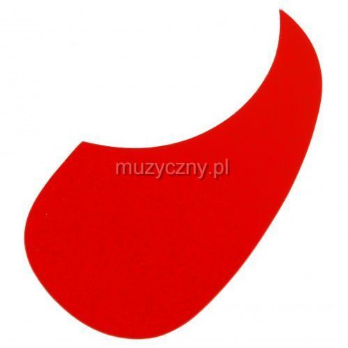 Boston ag 100 srd pickguard, łza sparkling red