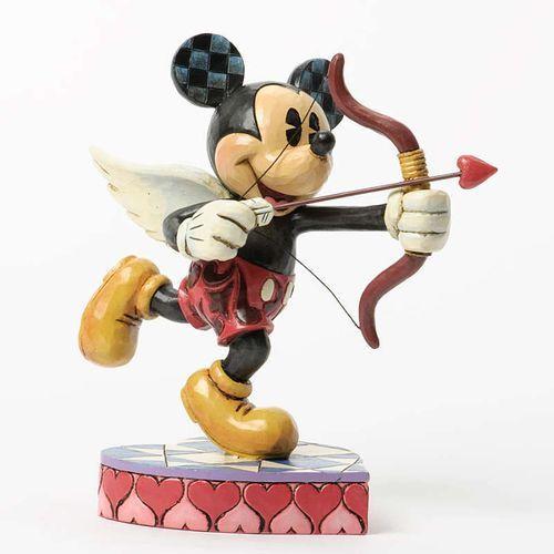 Myszka Mickey Mouse Kupidyn Cupido (Love is in the Air - Micky Amor) 4037518 Jim Shore figurka ozdoba świąteczna