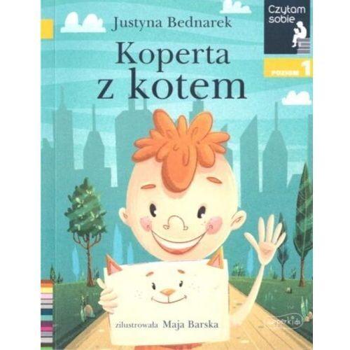 Czytam sobie - Koperta z kotem w.2020 - Justyna Bednarek - książka
