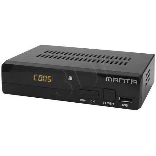 DVBT010 marki Manta z kategorii: dekodery telewizji cyfrowej