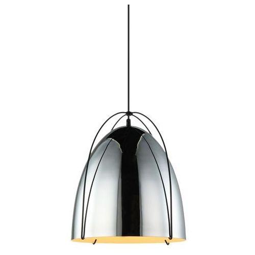 Lampa wisząca zilla mdm3346/1 cr zwis 1x40w e27 czarna / chrom marki Italux