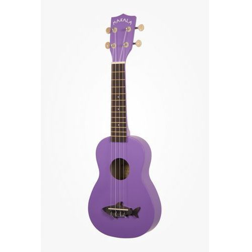 Kala Makala Shark Sea Urchin Purple, ukulele sopranowe