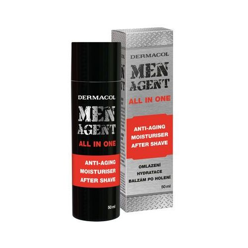 Dermacol men agent anti-aging moisturiser after shave all in one balsam po goleniu 50 ml dla mężczyzn
