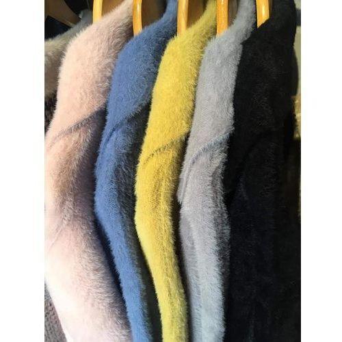 Płaszcz Alpaka - Grey, kolor szary