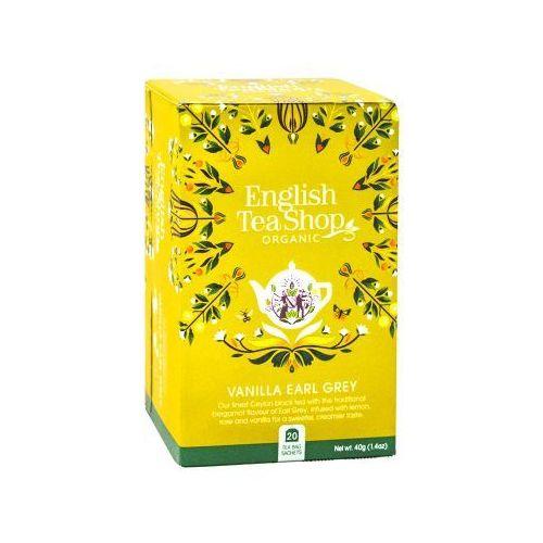 Ets vanilla earl grey 20 saszetek marki English tea shop