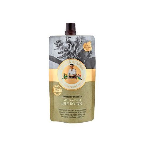 Babuszka agafia maska ekspresowa pielęgnacyjna do włosów (łaźnia agafii) 100ml marki Pierwoje reszenie, rosja