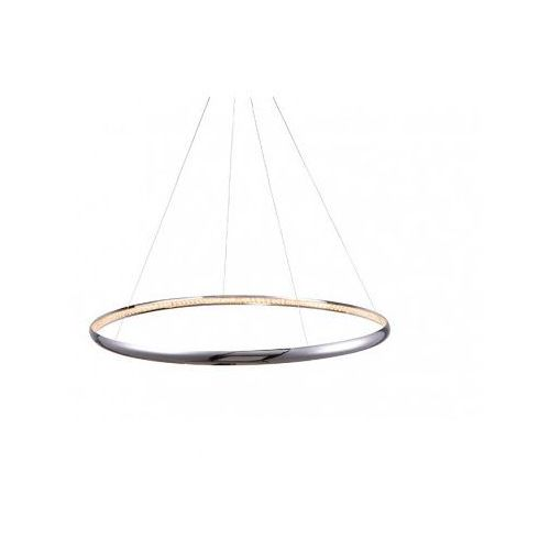 Azzardo Brighton 1 MP57043-1 Lampa wisząca zwis 1x30W LED chrom + żarówka LED za 1 zł GRATIS!, MP57043-1