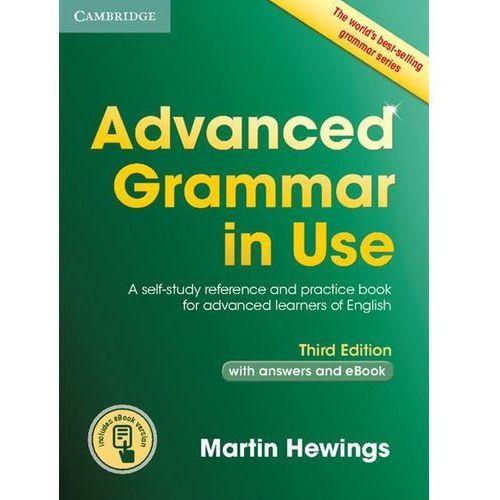 Advanced Grammar in Use with answers and Interactive eBook * natychmiastowa wysyłka od 3,99