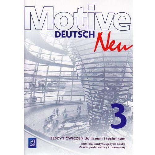 Język niemiecki Motive Deutsch Neu 3 zeszyt ćwiczeń LO / Zakres podstawowy i rozszerzony (2017)