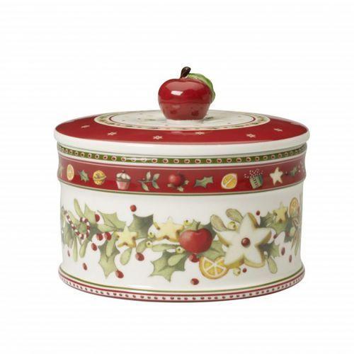 Villeroy & boch - winter bakery delight średnie pudełko na ciastka wymiary: 11 x 13 cm