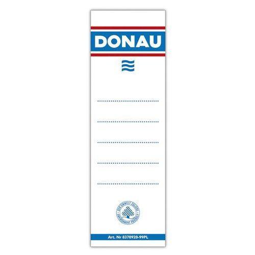 Donau Etykiety samoprzylepne do segregatora , 54x153mm, jednostronne, 20szt. (5901498005803)
