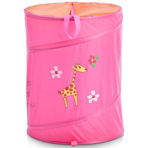 Torba na pranie, zabawki, motyw dziecięcy - kolor różowy, ZELLER