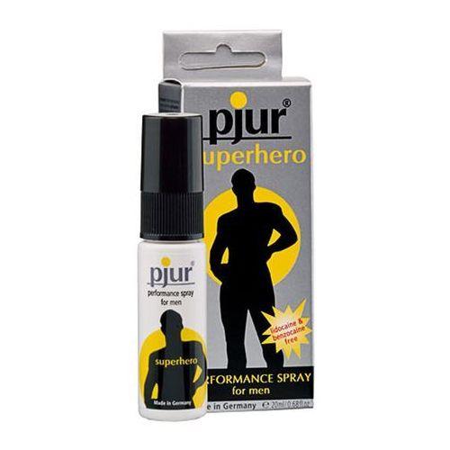 Pjur superhero delay spray płyn opóźniający wytrysk znieczula penisa 20 ml 10410