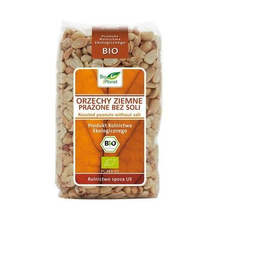 : orzechy ziemne prażone bez soli bio - 350 g marki Bio planet