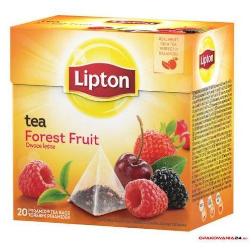 Herbata LIPTON PIRAMID FOREST FRUIT 20t OWOCE LEŚNE