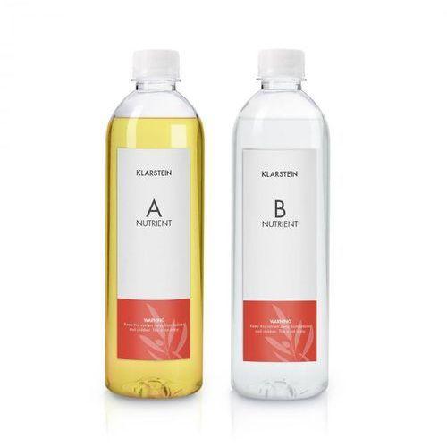 Klarstein Growlt Nutri Kit 300 pożywka roztwór wodny wyposażenie akcesoria 2 x 300 ml (4060656152139)