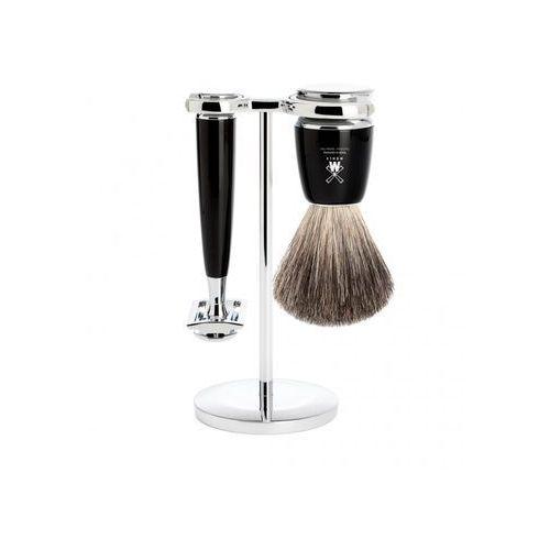 rytmo zestaw z maszynką i pędzlem do golenia s81m226sr marki Muhle