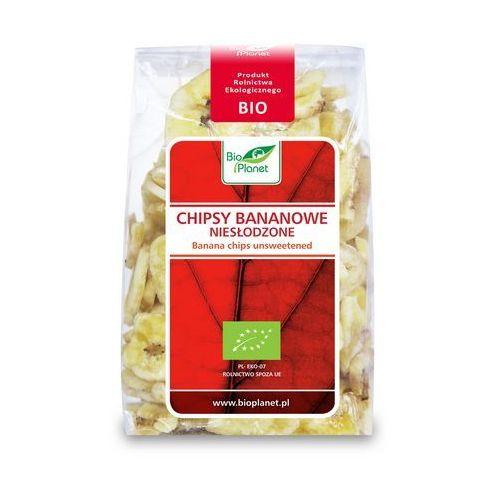 Chipsy bananowe niesłodzone BIO (Bio Planet) 150g
