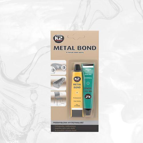 K2 Metal bond klej epoksydowy do łączenia metali o przemysłowej wytrzymałości - 56,7g (5906534009609)