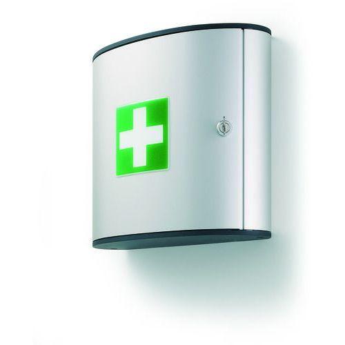 Apteczka bez wyposażenia mała M srebrna,FIRST AID BOX M DURABLE (4005546104010)