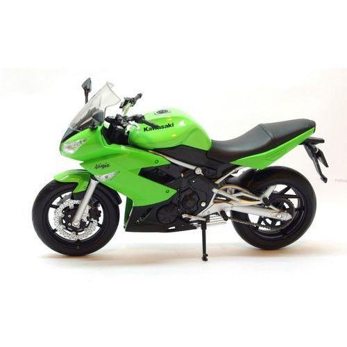 model kawasaki ninja 650r motor skala 1:10 marki Welly