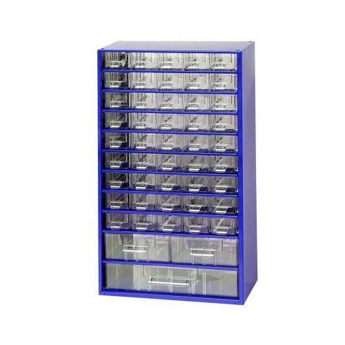 Metalowe szafki z szufladami, 48 szuflad (8595004167443)