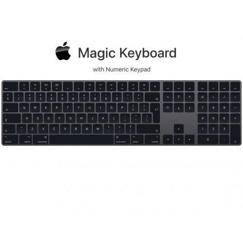 magic keyboard with numeric keypad space gray marki Apple