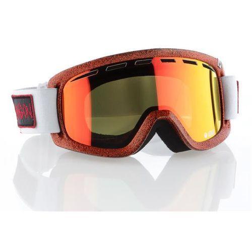 Gogle narciarskie d2 hog wld/redion+rosrl marki Dragon