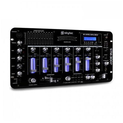 Skytec Stm-3007 6-kanałowy mikser dj bluetooth usb sd mp3
