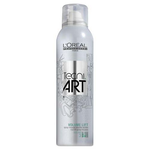 Loreal tecni art volume lift pianka do włosów w sprayu nadająca objętość u nasady 250 ml (3474630614659)