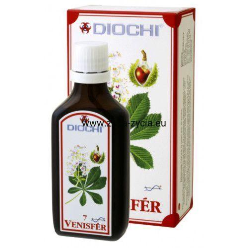 Diochi Venisfer 50ml - Wzmacniający i detoksykujący produkt roślinny (8595247710079)